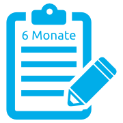 Icon Laufzeit 6 Monate